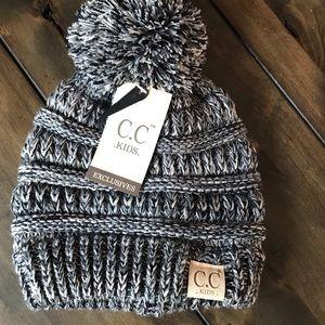 NEW C C kids beenie snow hat cap